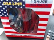 USA LINK Parts & Accessory 4 GAGE AMP WIRING KIT